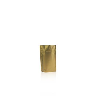 150ml - Doypack zip doré mat - NOUVEAU