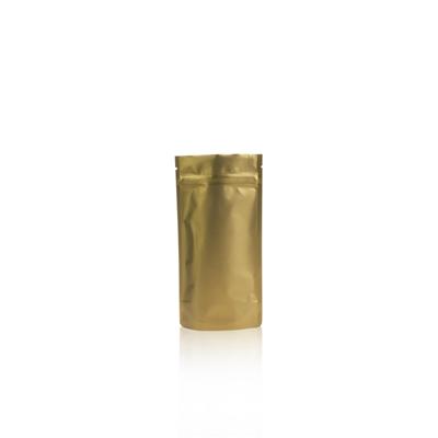 250ml - Doypack zip doré mat - NOUVEAU