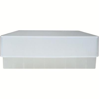 Storage box voor 81 buizen, naturel, b50