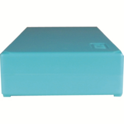 Storage box voor 50 slides , turqoise, k50t