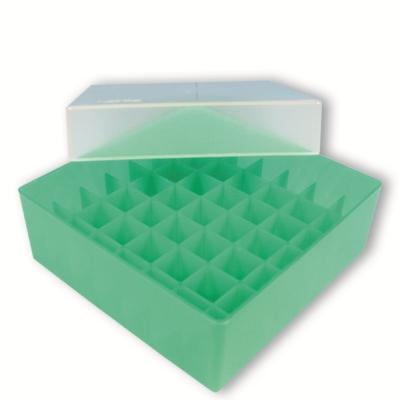 Storage box voor 49 buizen, groen, b47g