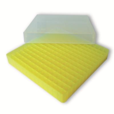 Storage box voor 196 vaatjes, geel, b30y