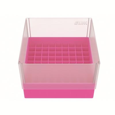 Storage box voor 81 buizen, roze, b99p