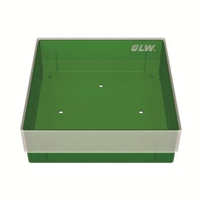 Storage box, zonder verdeling, groen, b40g