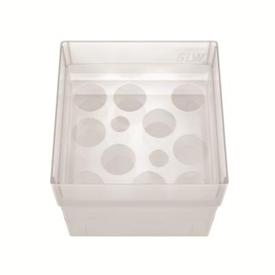 Storage box 100 voor 10 buizen, naturel, b20