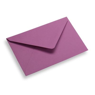 Papieren envelop 120 x 185 paars