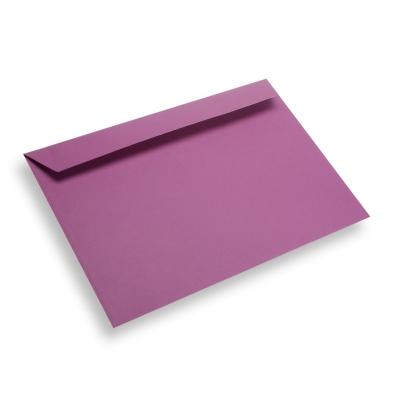 Papieren envelop A4 / C4 paars