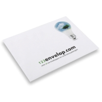 Printed Envelopes, 4 colors 162 mm x 229 mm White