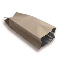 Side Gusset Bag 130 mm x 380 mm Brun