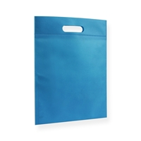 Non Woven Carrier Bags 300 mm x 400 mm Blue