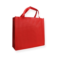 Non Woven Carrier Bags 400 mm x 350 mm Red