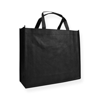 Non Woven Carrier Bags 400 mm x 350 mm Black
