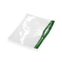 Re-closable wallets 250 mm x 170 mm Green