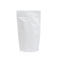 Lamizip Colour Stand Up Pouches 6.30 inch x 10.43 inch White