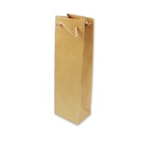 Paper Wine bag 120 mm x 400 mm Brown