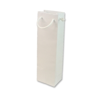 Paper Wine bag 120 mm x 400 mm Wit