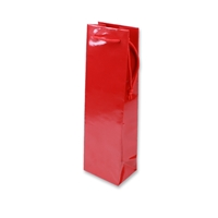 Paper Wine bag 120 mm x 400 mm Rood