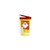 Daklapack-Safebox Naaldencontainer MINI 0,25 ltr. 50 mm x 81 mm Gul