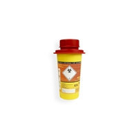 Daklapack-Safebox Needlecontainer MINI 0,5 ltr. Yellow