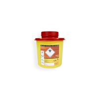 Daklapack-Safebox Needlecontainer VITAL 1,5 ltr. Yellow