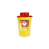 Daklapack-Safebox Needlecontainer VITAL 2,2 ltr. Yellow