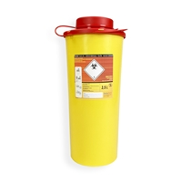 Daklapack-Safebox Needlecontainer VITAL 3,0 ltr. Yellow