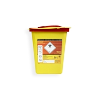 Daklapack-Safebox Needlecontainer Superior 2 ltr. Yellow
