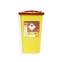 Daklapack-Safebox Needlecontainer Superior 3,5 ltr. Yellow