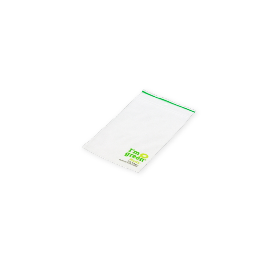 Gripbags Biobased 60 mm x 80 mm Transparent