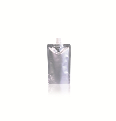 Spoutbag ø10mm 90 mm x 145 mm Silver