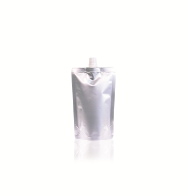 Spoutbag ø10mm (250ml) 105 mm x 165 mm Silver