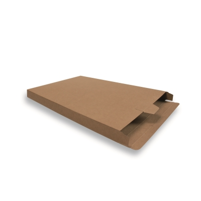 Cardboard Mailing Carton 350 mm x 240 mm Brown