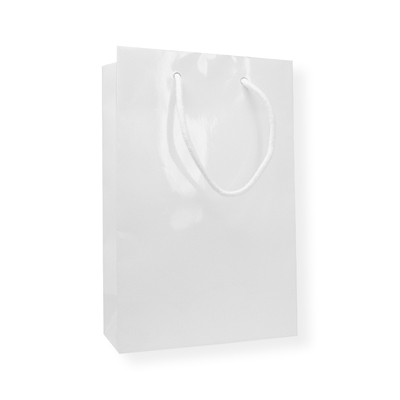 Glossybag 250 mm x 160 mm Wit