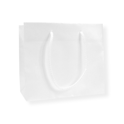 Glossybag parelmoer 420 mm x 370 mm Wit