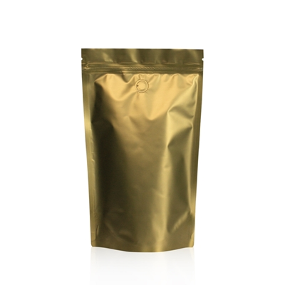 Lamizip Colour Stand Up Pouches 6.30 inch x 10.43 inch Gold