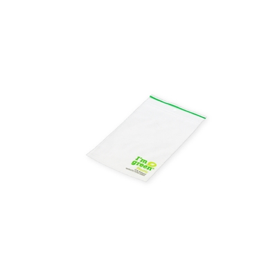 Gripbags Biobased 100 mm x 150 mm Transparent